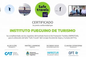 "Más provincias ostentan el sello ""Safe Travels"""